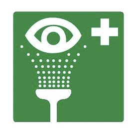 pictogram oogdouche